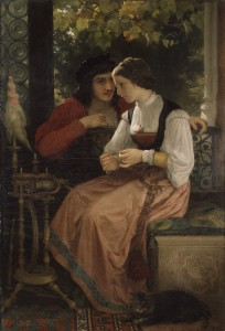 William-Adolphe_Bouguereau_(1825-1905)_-_The_Proposal_(1872)